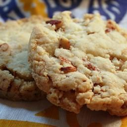 Pecan Shortbread Cookies on BigOven: