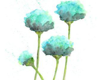 peinture aquarelle fleurs coquelicots aquarelle art floral