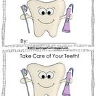 Just for fun, a FREE mini-book to celebrate dental health month in February. Booklet includes easy-to-read directions on how to care for teeth.Ch...
