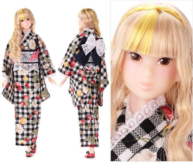 PRE-order Sekiguchi momoko Doll Fruity Shaved Ice Black☓Yellow F/S #Momoko #DollswithClothingAccessories