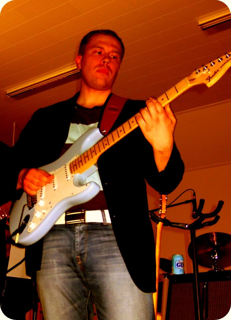 Sonic Blue Stratocaster