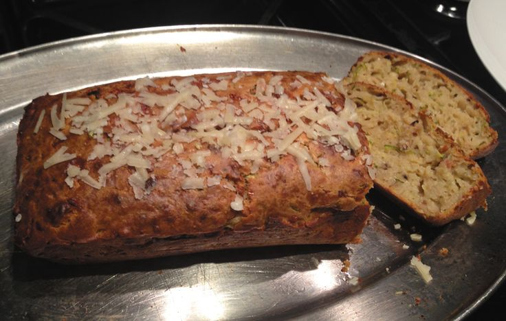 Courgette and parmesan bread