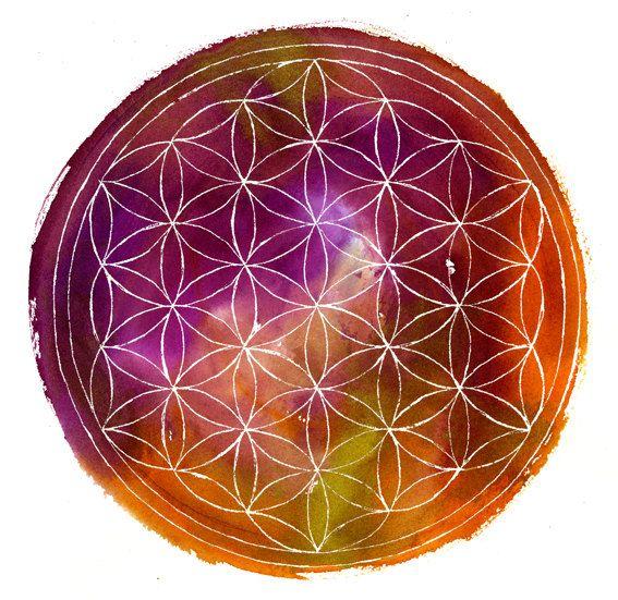 Bloem van het leven. Heilige Geometrie
