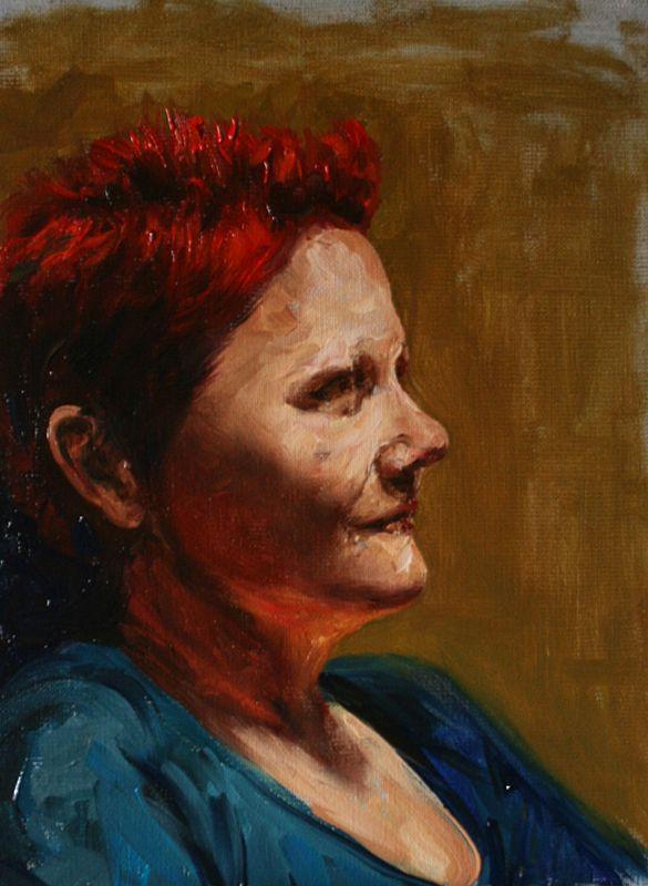 Mother Portrait Cyprian Nocoń Nocon
