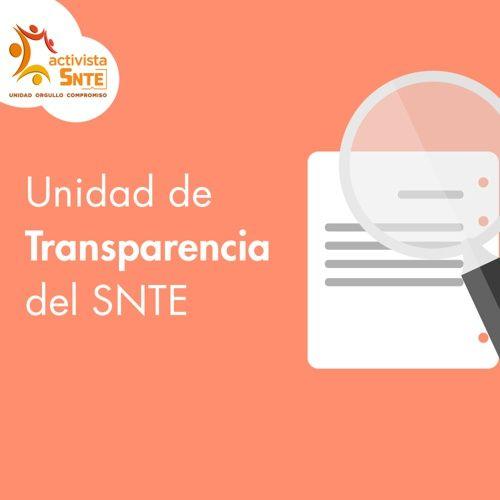 ¡Conoce la Unidad de Transparencia del SNTE frente al INAI!: https://activistasnte.mx/content/miactivismo/post/2570071