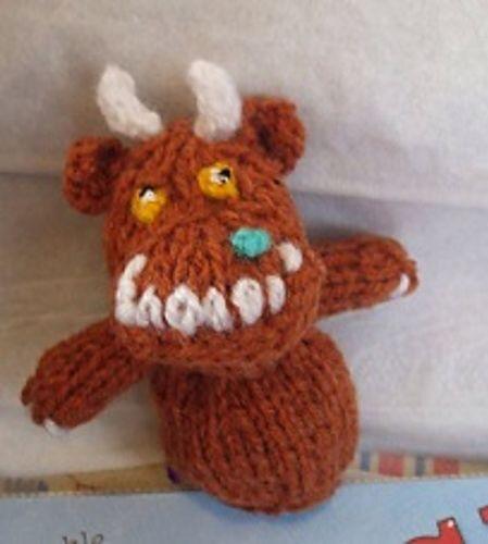 Gruffalo finger puppet!