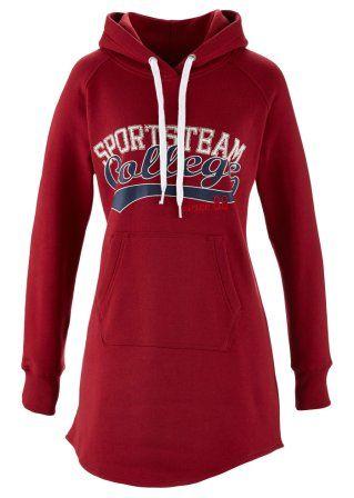 Long-Sweatshirt, John Baner JEANSWEAR, abendrot
