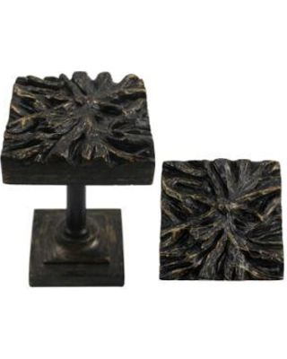 Urbanest Urbanest Root Medallion Drapery Holdback, Burnt Gold, Set of 2 from Walmart | BHG.com Shop