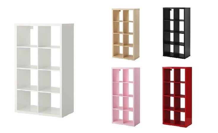 Ikea KALLAX 8 Shelf Shelving Unit Bookcase Storage Display Unit Rack Expedit