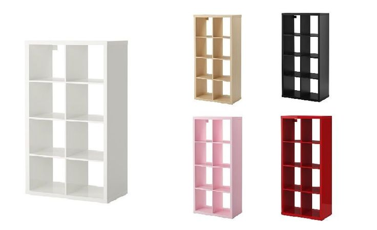 Ikea KALLAX 8 Shelf Shelving Unit Bookcase Storage Display Unit Rack Expedit