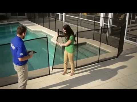 Our Removable Pool Fence is Safe & Stylish | Protect-A-Child