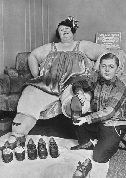 Jolly Irene  Human Oddities, Retro Pictures, Vintage Circus-3627
