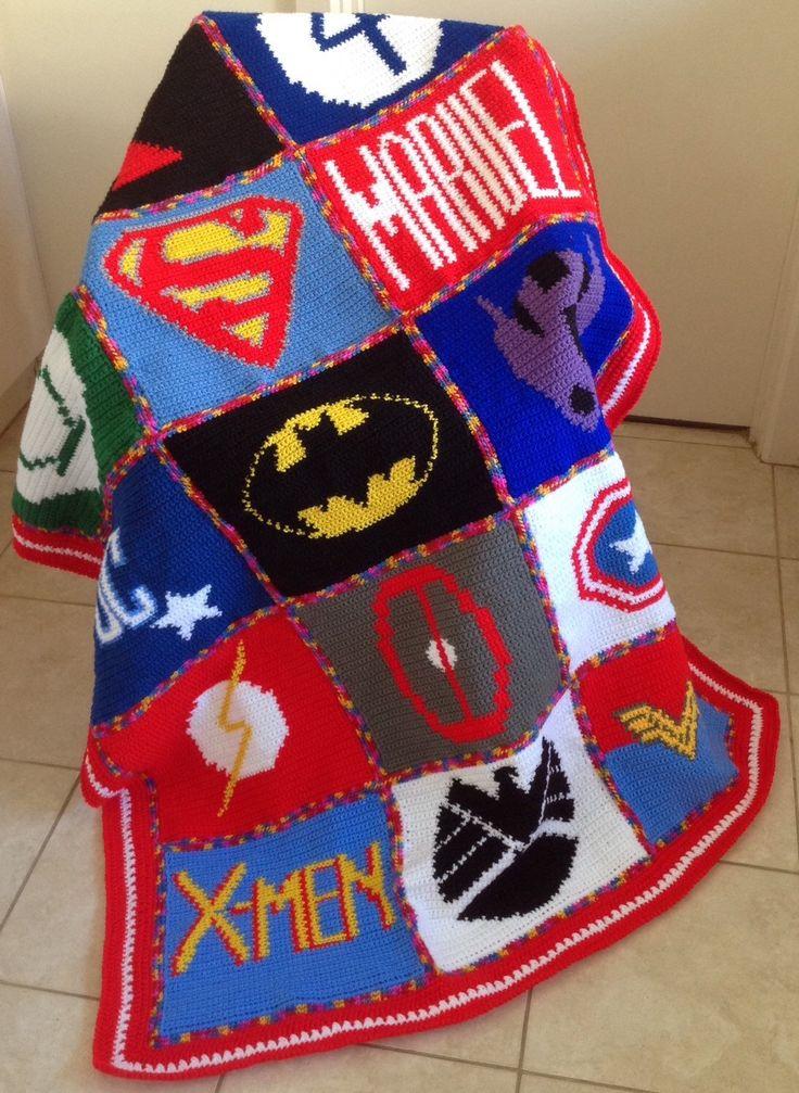 Pin By Rhonda Hubbard On Boy Stuff Crochet Blanket