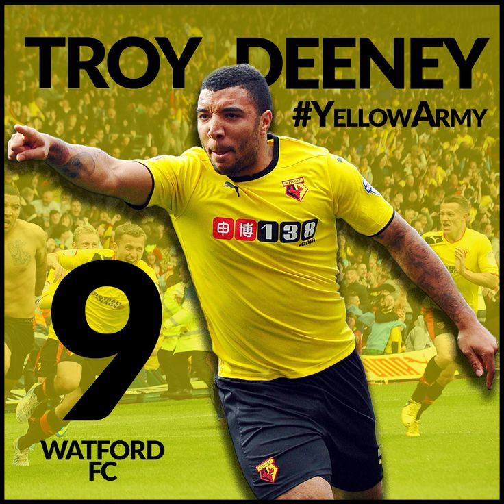 Troy Deeney Watford FC Captain 2015