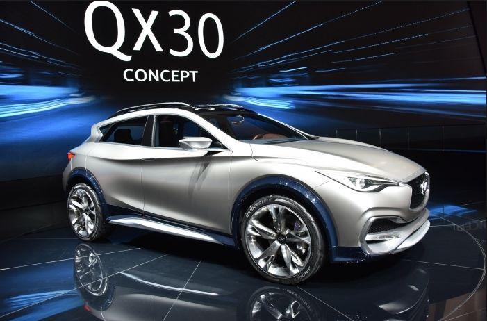 2019 Infiniti QX30 Exterior Styling