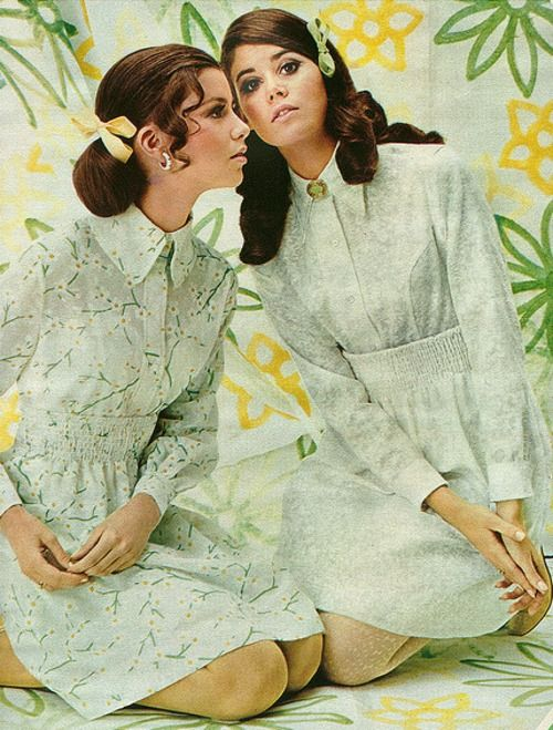 1968, Colleen Corby..I can even remember how my Seventeen magazine smelled!