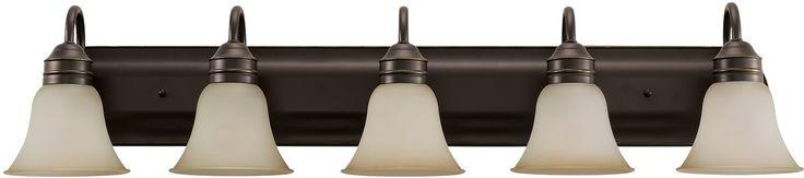 0-021401>Gladstone 5-Light Bath Vanity Heirloom Bronze