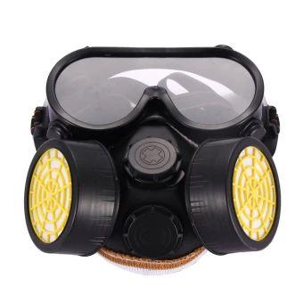 ซื้อเลย  Industrial Gas Chemical Anti-Dust Paint Respirator Mask GlassesGoggles Set  ราคาเพียง  285 บาท  เท่านั้น คุณสมบัติ มีดังนี้ Industrial Gas Chemical& Anti-Dust Paint Respirator& Mask Glasses Goggles Set