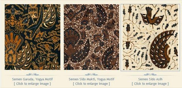 Makna Filosofi dan Cerita di Balik Berbagai Motif batik   seri Semen   Tentang Batik   Museum Batik