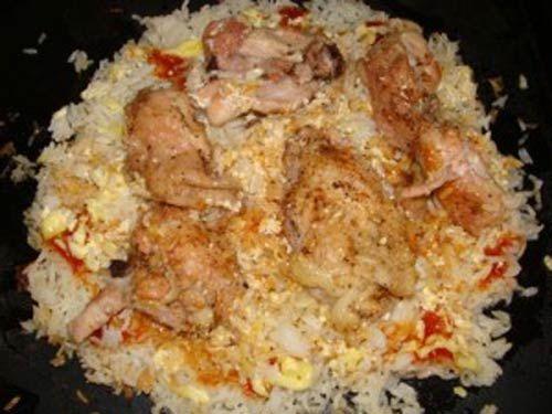 Рис с мясом в духовке https://www.go-cook.ru/ris-s-myasom-v-duxovke/  Необычный рецепт для тех, кому надоел обычный плов в мультиварке/скороварке. Рис, запеченгый с мясом в духовом шкафу, получается гораздо вкуснее, и сохраняет значительно больше полезных пищевых свойств Рецепт риса с мясом в духовке Время подготовки: 10 минут Время приготовления: 1 час Общее время: 1 час 10 минут Кухня: Русская Тип: Второе блюдо Порций: 4 Ингредиенты … Читать далее Рис с мясом в духовке