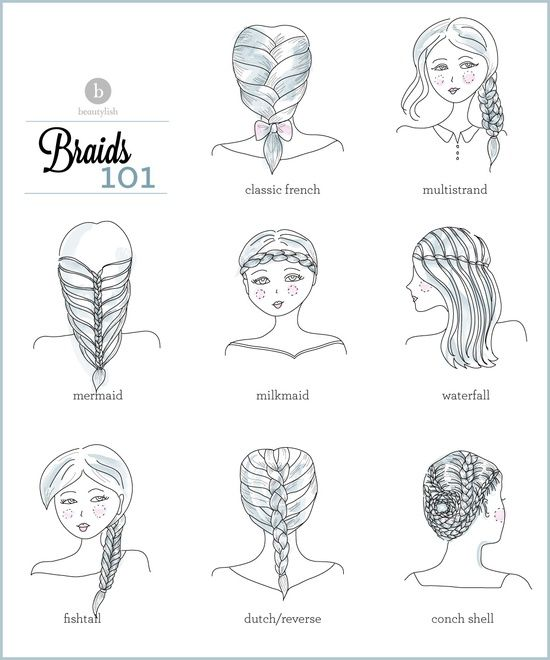 These braid tutorials will have you all set for school!