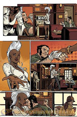 Storm and Wolverine Tumblr