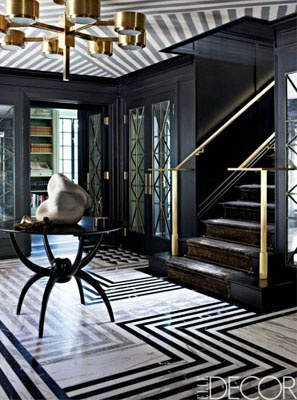 Black & White Marble Floor