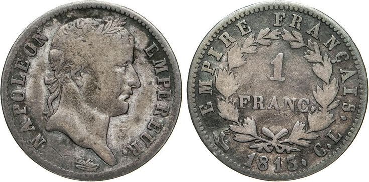 NumisBids: Numismatica Varesi s.a.s. Auction 65, Lot 729 : NAPOLEONE I (1804-1814) Franco 1813 Genova. Pag. 28 Ag ...