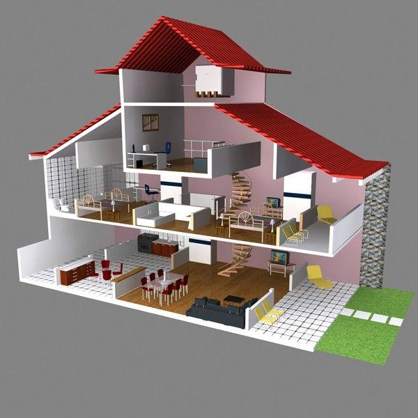 64 Best 3D Building Moodboard Images On Pinterest