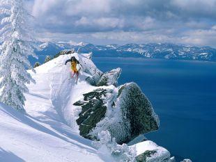 Imagenes - FONDITOS: Esquiando en Nevada - Deportes, Esquí