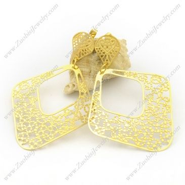 plating earings - e001044  Sales Price : US$ 2.12  Click on the image to buy online with a wholesale amount.