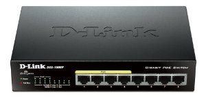 8-Port Gigabit Unmanaged Desktop Switch with 4 PoE Ports