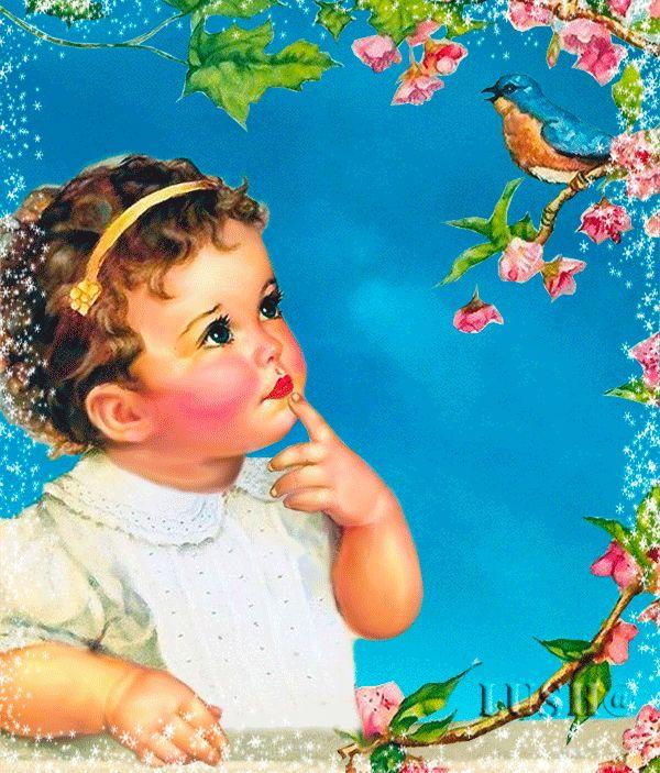 Красивые детские картинки и анимации