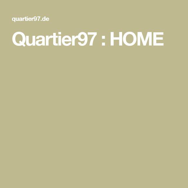 Quartier97 : HOME