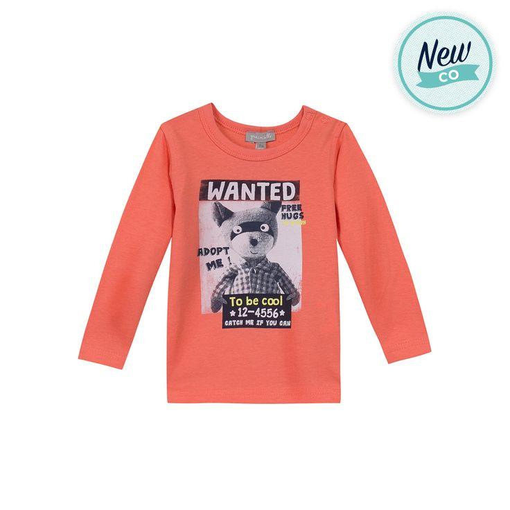 T-shirt orange Grain De Blé en soldes - Z generation