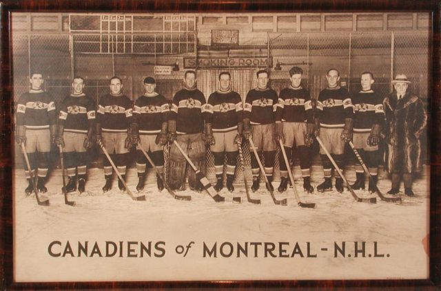 Montreal Canadiens - Stanley Cup Champions - 1924 / Globe Jersey