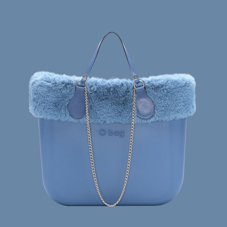 Play with O bag!  Create new #mixandmatch with the colorful #ecofurtrim! #Obag #new #vintage