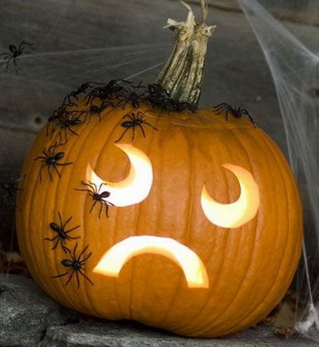 38 halloween pumpkin carving ideas boo at the zoo for Boo pumpkin ideas