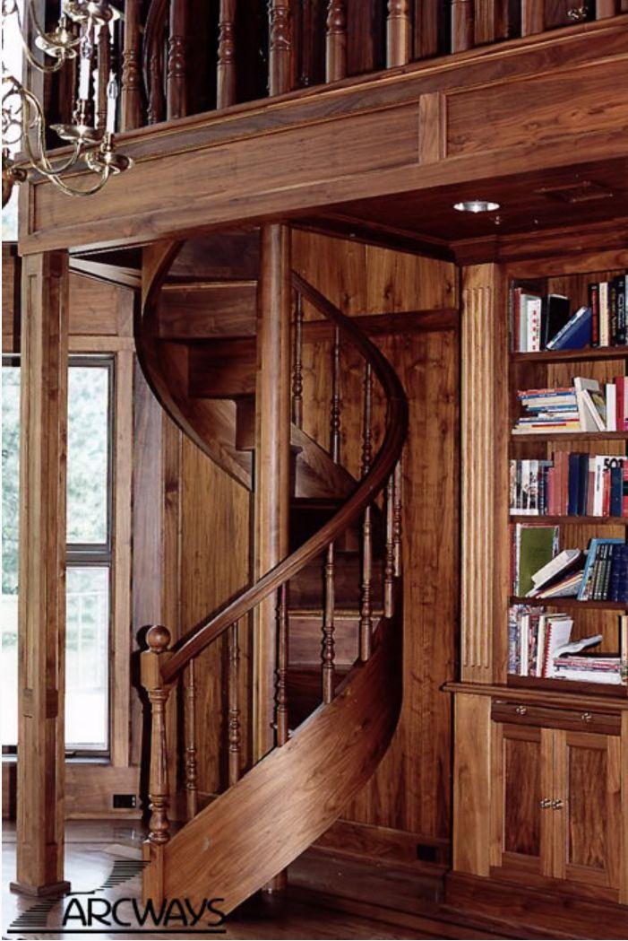 Best Custom Spiral Staircase From Arcways In 2020 Spiral 400 x 300