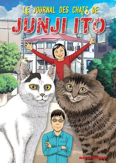 Le journal des chats, un manga de JUNJI ITO (Tonkam)
