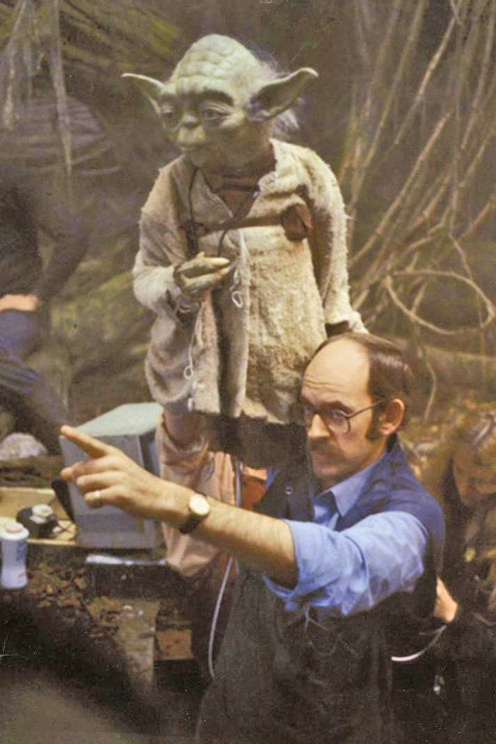 "Frank Oz as the voice of Yoda in the ""Star Wars."" movies. NOTE: Although this IS best movie /characters/ and not /voices/ I am adding Frank/Yoda due to the talent that man (Frank.) has."