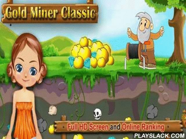Gold Miner Classic HD  Android Game - playslack.com , Gold Miner Classic HD is the game in which you will have to look for different priceless things under the object. You have to attain a definite amount of cash within the contracted  time. The fatter part you will take from under the object the more cash you ll get. Besides, their been  depends on the kind of a priceless metal or art. attempt to get only the most priceless parts. But sometimes you will have to clear the path to them before…