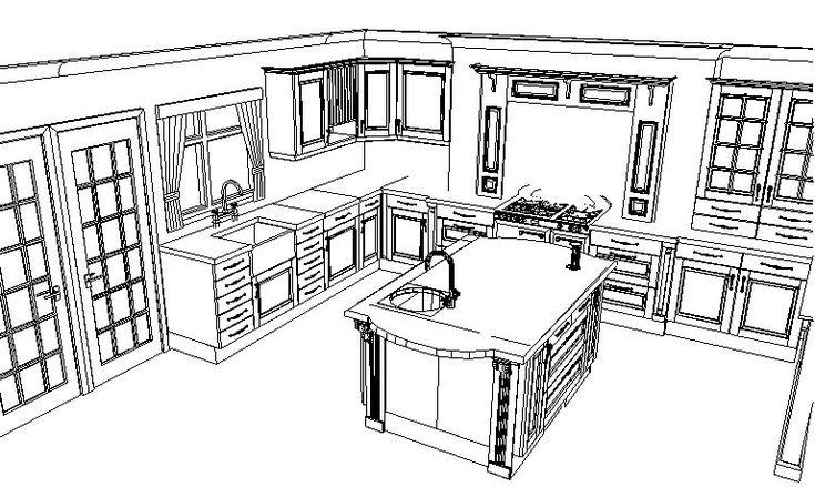 Small kitchen layout design small kitchen design casa for 7 x 9 kitchen design