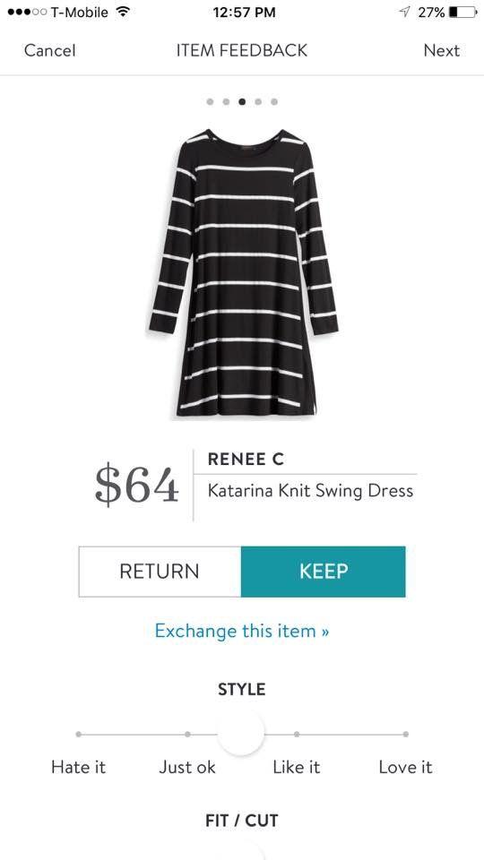 Renee C Catarina Swing Knit Dress