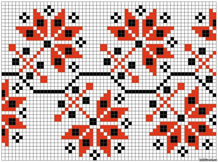 Вышивки подушки болгарским крестом схемы
