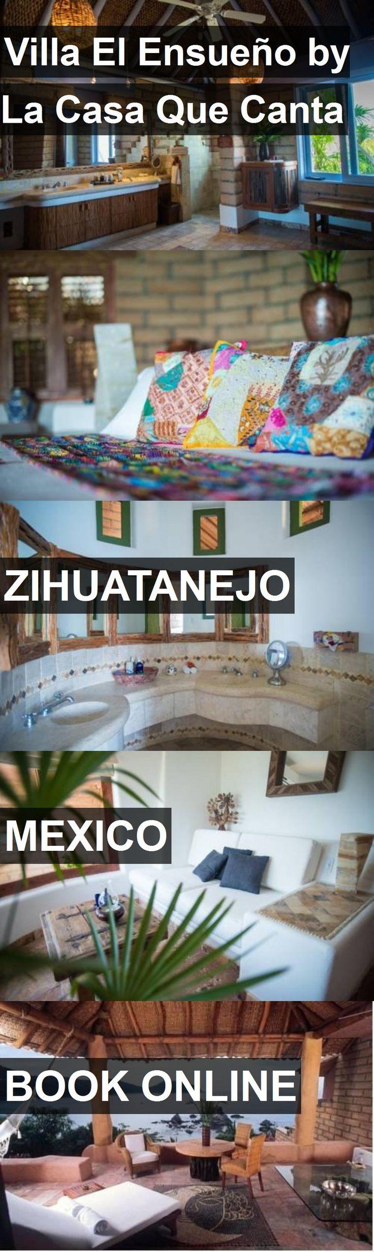 Hotel Villa El Ensueño by La Casa Que Canta in Zihuatanejo, Mexico. For more information, photos, reviews and best prices please follow the link. #Mexico #Zihuatanejo #hotel #travel #vacation