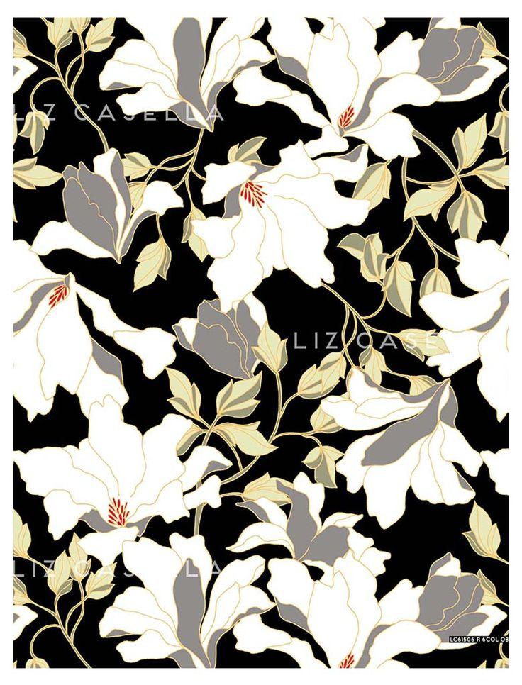 L.C. JOURNAL Liz Casella   Fashion Textile Design   Contemporary Print Design
