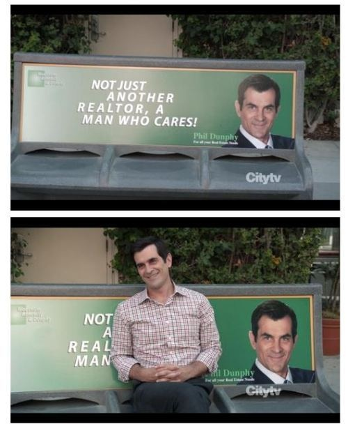not a real man #modernfamily