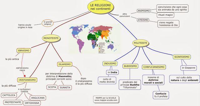 MAPPE per la SCUOLA: RELIGIONE