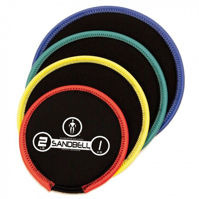SandBell 45 KG Indigo  Description: De SandBell van Hyper Wear is het meest veelzijdige en functionele trainingsgewicht op de markt! De SandBell gemaakt van rekbaar neopreen is een kruising tussen een dumbell barbell medicine ball grip bag stabiliteitskussen slam ball sandbag gliding disk en kettlebell. Het gewicht varieert van 1-23 kg (2-50 lbs). \\n Het gewicht is afgebeeld op de SandBell en de gebruikte kleurcodes geven een visuele indicatie van het gewicht. Het gebruik van neopreen maakt…